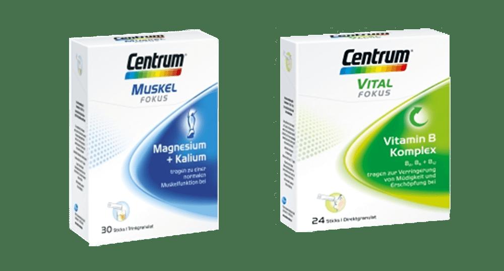 Centrum Muskel Fokus und Vital Fokus - Apotheke zur heiligen Elisabeth